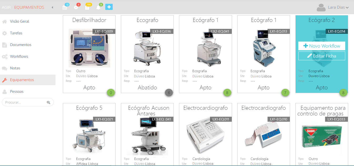 Equipment & Device Management
